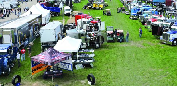 Dodge County's fairgrounds hosts the big rigs this weekend during the Big Iron Classic on Saturday.